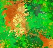 Ambiti di provenienza variopinti, contesti artistici creati digitalmente, illustrazione vettoriale