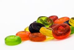 Ambiti di provenienza variopinti delle caramelle Fotografia Stock Libera da Diritti