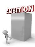 Ambition illustration de vecteur