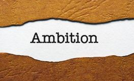 Ambition Stock Images
