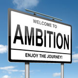 Ambition concept. Royalty Free Stock Images