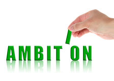 Ambition Concept Stock Photo