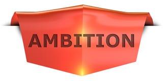 Ambition de bannière illustration libre de droits