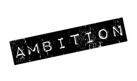 Ambition rubber stamp Stock Images