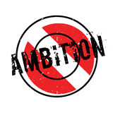 Ambition rubber stamp Royalty Free Stock Photo