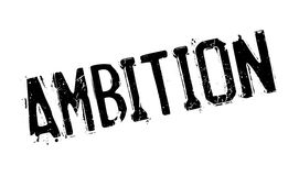 Ambition rubber stamp Royalty Free Stock Photography
