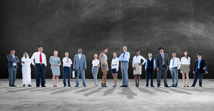 Ambition Team Corporate Concept för affärsfolk Arkivbilder