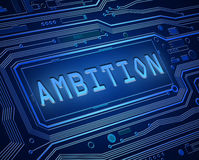 Ambition technology concept. Royalty Free Stock Photos