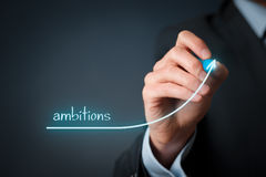 Ambitions Stock Images