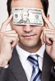 Ambitious business man Royalty Free Stock Photography
