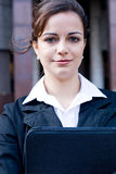 Ambitious businesswoman Stock Image