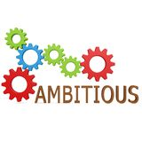 Ambitious gear Royalty Free Stock Photography