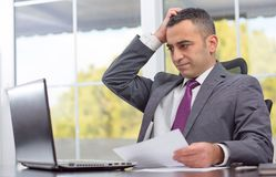 Ambitious Young Businessman Failed Stock Images