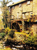 Ambleside. Old mill on the river brathay, ambleside, english lake district national park, cumbria Stock Photo