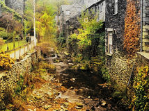 Ambleside. Old mill on the river brathay, ambleside, english lake district national park, cumbria Royalty Free Stock Image