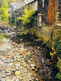 Ambleside. Old mill on the river brathay, ambleside, english lake district national park, cumbria Stock Photography