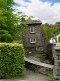 桥楼室在Ambleside在英国湖区 库存照片