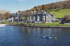 Free Ambleside, A Lakeside Town By Windermere Lake Within The Lake District National Park In England, UK Royalty Free Stock Images - 119614899