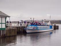 Ambleside. Boats at Ambleside, Lake Windermere, Cumbria, UK Stock Photo