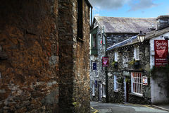 Ambleside, Cumbria. Street view in Ambleside, Cumbria - Lake District UK Royalty Free Stock Photo