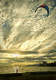 Ambleside Kite, West Vancouver Royalty Free Stock Photography