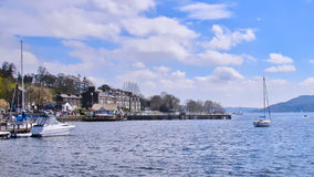 Ambleside, lago Windermere Fotografia de Stock Royalty Free