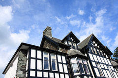 Ambleside, Lake District. Old style architecture Royalty Free Stock Photo