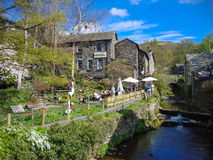 Ambleside in Lake District in england Royalty Free Stock Image