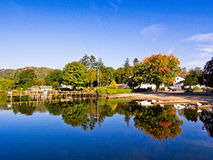 Ambleside. Still waters at Ambleside, cumbria, UK Royalty Free Stock Images