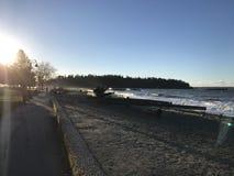 Ambleside strand Royaltyfri Fotografi