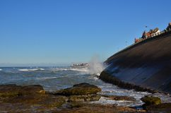 ambleteuse audresselles przeglądać plażowy France Zdjęcie Stock