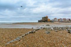 Ambleteuse, fort Mahon, Nord pas de Calais, Francja Fotografia Royalty Free