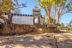 Ambohimanga - historische versterkte koninklijke regeling royalty-vrije stock foto's
