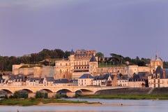 Amboise. Old City of Amboise, France Royalty Free Stock Image