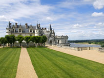 Amboise Castle. In Loire Valley Royalty Free Stock Image