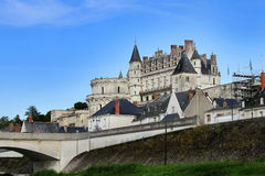 Amboise Castle in France Royalty Free Stock Photo