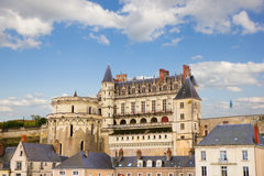 Amboise castle, France Stock Image