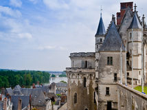 Amboise Castle and the Loire Valley Royalty Free Stock Images