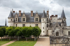 Amboise castle. Valley of the river Loire. France Stock Photo