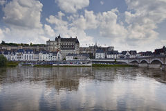 Amboise chateau Royalty Free Stock Photo