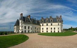 amboise chateau france Loire Valley Royaltyfri Foto