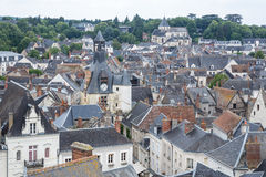 Amboise Cityscape France Royalty Free Stock Image