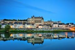 Amboise Frankrike Arkivfoto