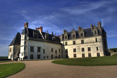 Amboise french castle Royalty Free Stock Image