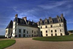 Amboise french castle Royalty Free Stock Image