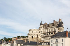 Amboise and its Chateau Royalty Free Stock Images