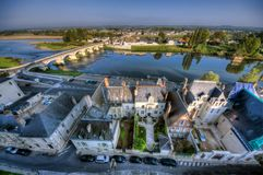 Amboise landscape Royalty Free Stock Images