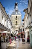Amboise, Loire Valley. The Town Is Known For The Castle Of The Same Name. France