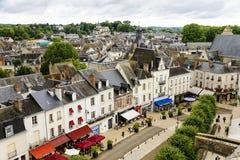 Amboise main street view stock image