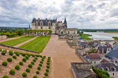 Amboise slott Royaltyfria Foton